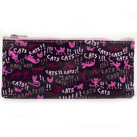 BLUE Q PENCIL CASE 'CATS!'