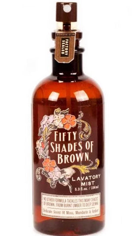blue q lavatory mist '50 shades of brown' - the-tangerine-fox