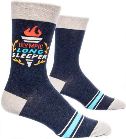 blue q men's socks 'olympic long sleeper'