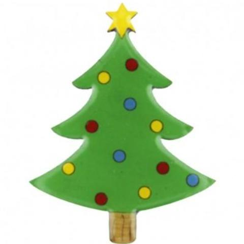 bok bok b'gerk brooch 'christmas tree'