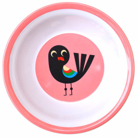 OMM DESIGN 'BIRD' MELAMINE BOWL