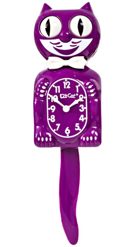 kit-cat clock 'boysenberry'