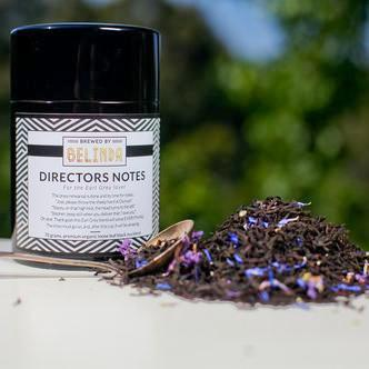 brewed by belinda directors notes tea canister