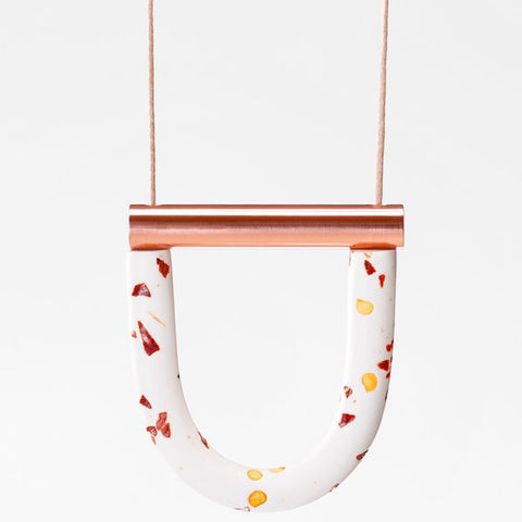 jack by sam necklace 'chilli rose gold'