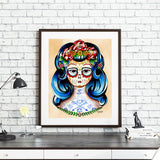JUBLY-UMPH CLAUDIA THE TATTOOED LADY ART PRINT A3