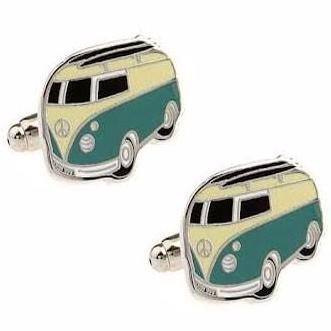 cufflinks 'kombi van' - The Tangerine Fox