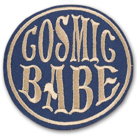 embroidered patch 'cosmic babe'