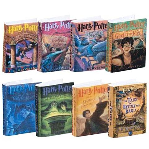 miniature books 'harry potter 8 set'