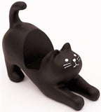 decole smart phone stand 'cat' black