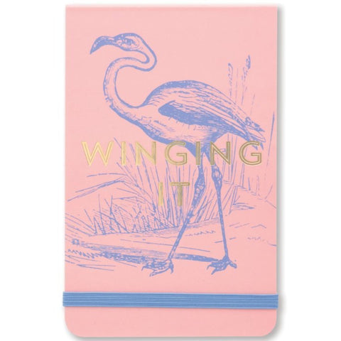 designworks ink. notepad vintage sass 'winging it'