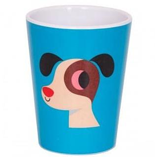 omm design melamine cup 'dog'