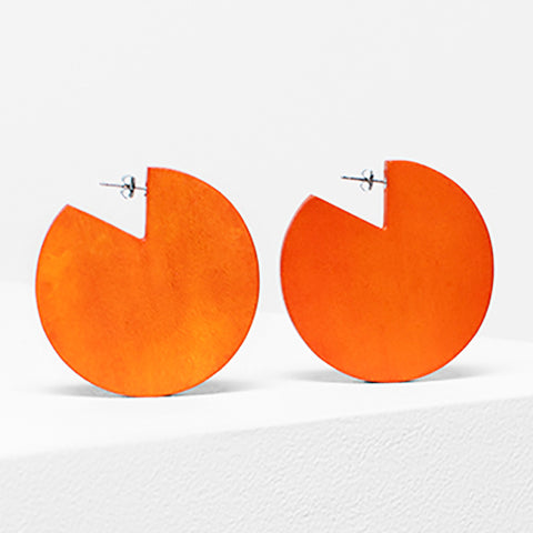 elk earrings 'dorf cut out' flame
