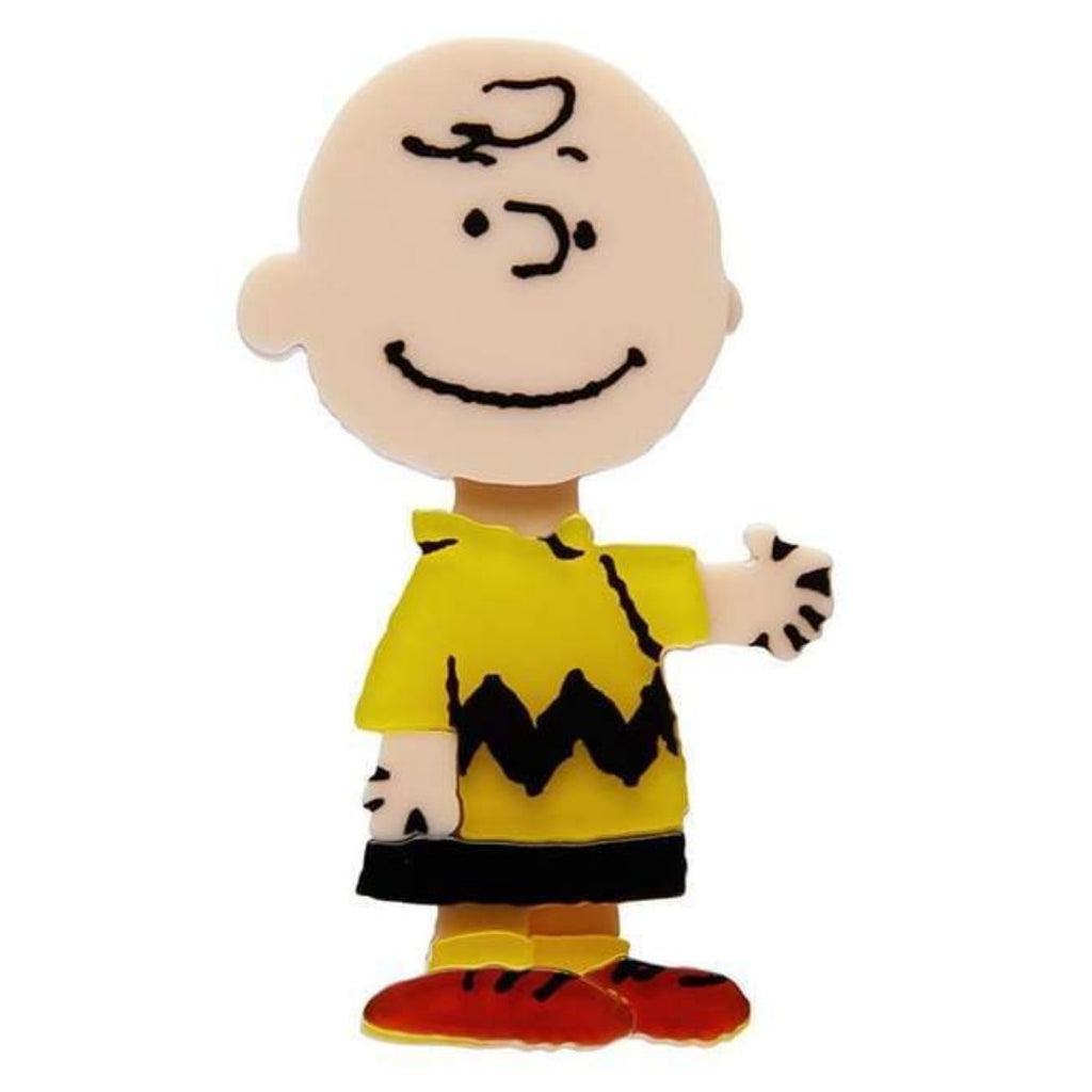 erstwilder brooch 'charlie brown'