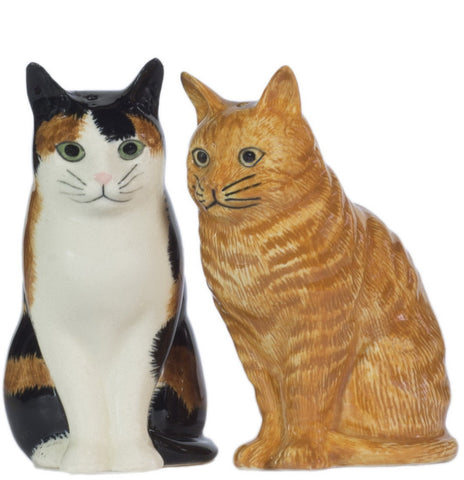 quail ceramics salt & pepper 'eleanor & vincent' - the-tangerine-fox