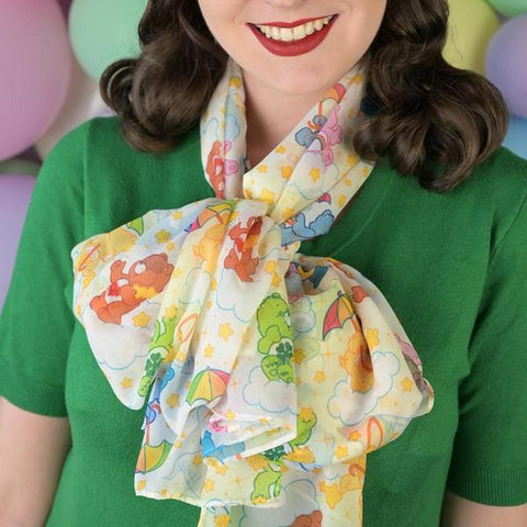 erstwilder scarf 'care bears' large