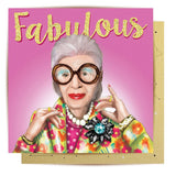 la la land greeting card 'fabulous always & forever' - the-tangerine-fox