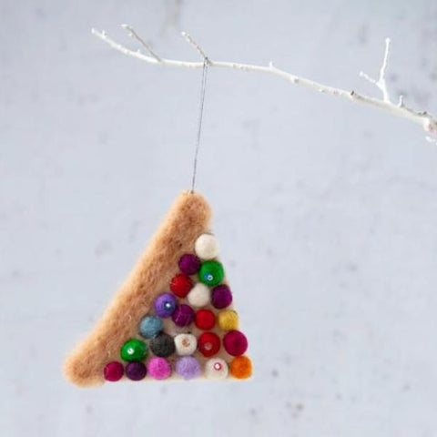 christmas ornament 'sweet fairy bread'