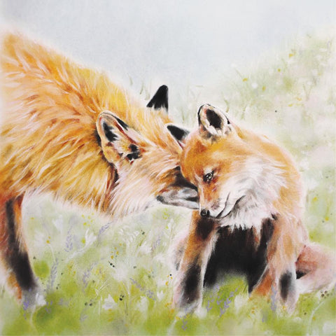 la la land greeting card 'bambino fox'