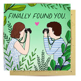 la la land greeting card 'finally found you' - the-tangerine-fox