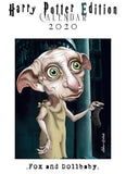fox & dollbaby calendar 'harry potter 2020'