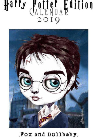 fox & dollbaby calendar 'harry potter 2019'