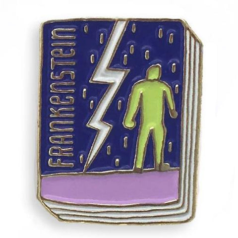 jane mount book pin 'frankenstein'