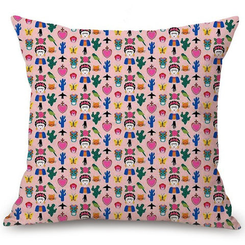 cushion cover 'frida pattern'