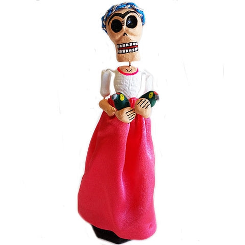 mexican figurine 'day of the dead frida'