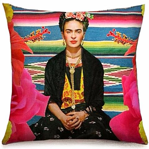 cushion cover 'frida mexican blanket'