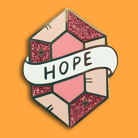 jubly-umph enamel pin jewel of hope