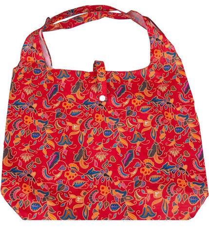 gifted hands shopping bag 'camilla' red