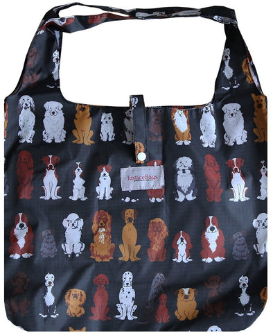 gifted hands shopping bag 'paws' black