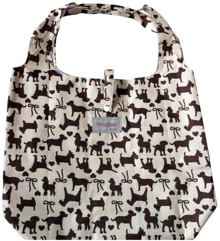 gifted hands shopping bag 'pooch' almond