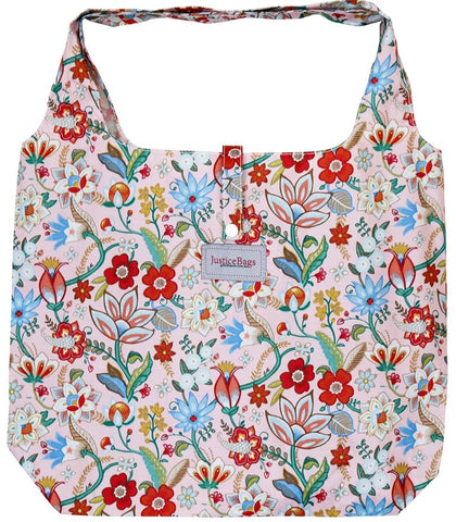 gifted hands shopping bag 'glory' pink - the-tangerine-fox