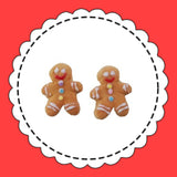 SATURDAY LOLLIPOP 'GINGERBREAD MAN' EARRINGS - the-tangerine-fox