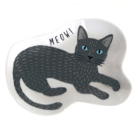 concept japan accessory dish 'grey cat' - the-tangerine-fox