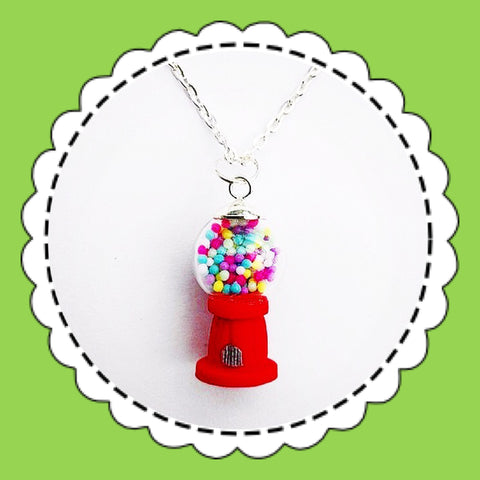 SATURDAY LOLLIPOP 'GUMBALL' NECKLACE