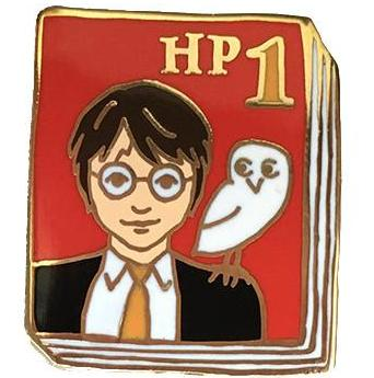 JANE MOUNT 'HARRY POTTER #1 BOOK' ENAMEL PIN