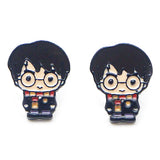 sugar earrings enamel 'harry potter cartoon' studs - the-tangerine-fox