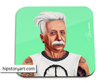 hipstory coaster 'albert einstein'