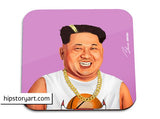 hipstory coaster 'kim jong un' - the-tangerine-fox