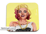 hipstory coaster 'marilyn monroe' - the-tangerine-fox