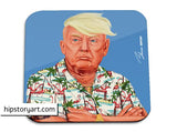 hipstory coaster 'donald trump'