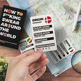 gift republic cards 'how to f*cking swear around the world'