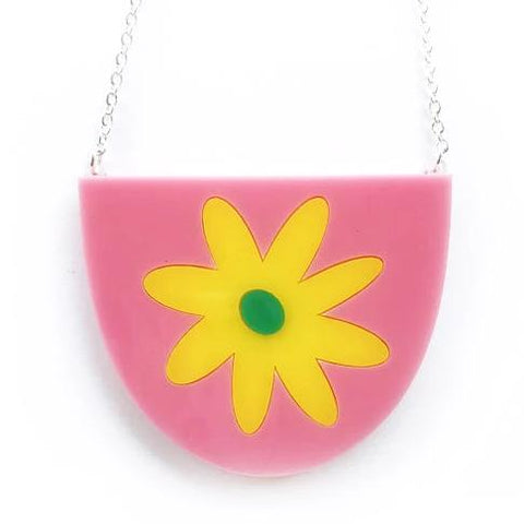each to own necklace 'flora yoo' pink