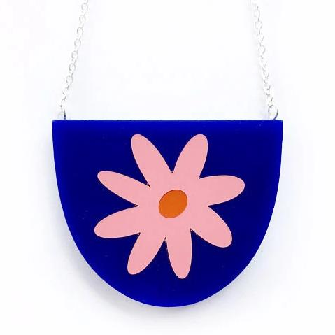 each to own necklace 'flora yoo' blue