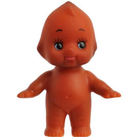 kewpie doll 'brown' 5cm