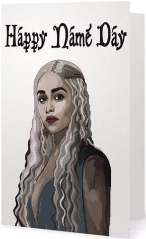 EX-GIRLFRIENDS REBELLION 'KHALEESI' GREETING CARD