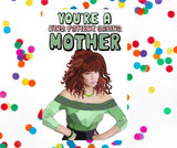 ex-girlfriends rebellion greeting card 'peggy bundy' - the-tangerine-fox