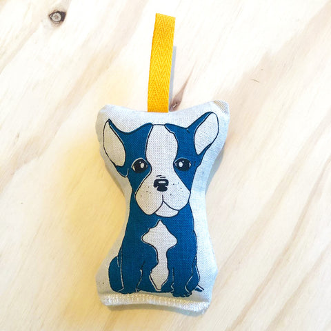 lil leigh designs rattle 'french bulldog' turquoise
